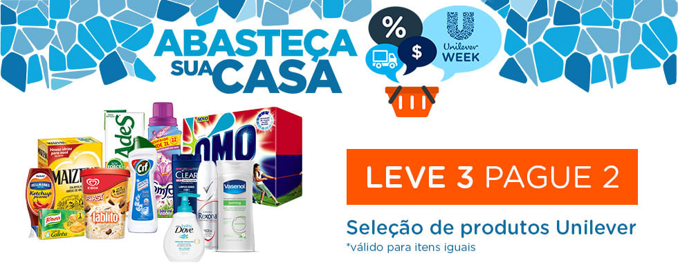Unilever Week - Leve 3 Pague 2