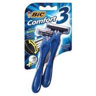 aparelho-de-barbear-bic-comfort-3-com-2-unidades