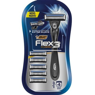 Menor preço em Aparelho de Barbear Bic Flex 3 Hybrid Un