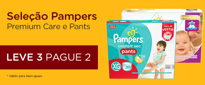 Pampers Premium Care e Pampers Pants