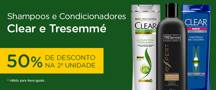 Clear e Tresemme