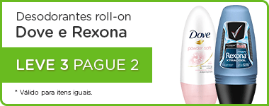 Dove e Rexona Roll on