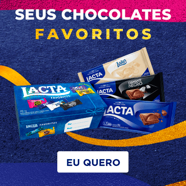 Lacta seus chocolates favoritos