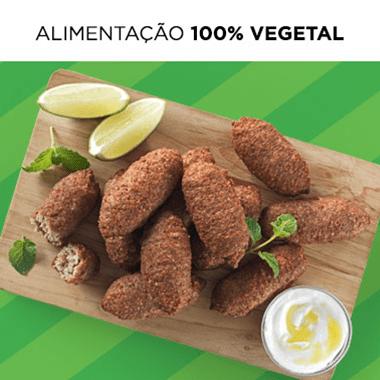 Alimentação 100% vegetal